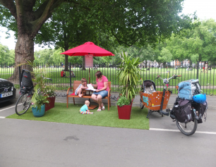 Hackney Community Parklet